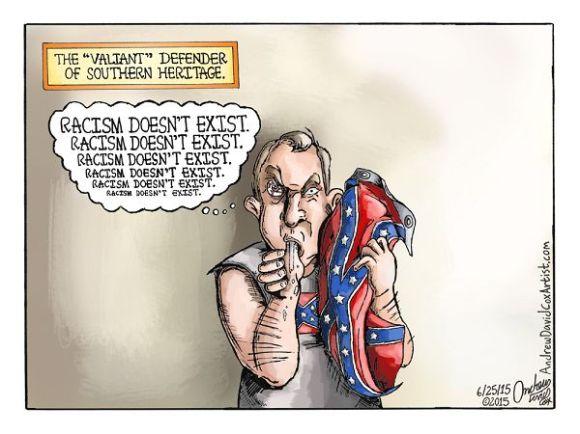 Cartoon by Andrew David Cox